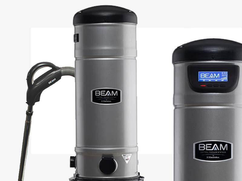 Aspirapolvere centralizzato Beam serie Platinum