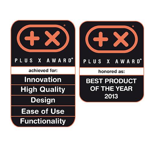 Certificazione aspirapolvere Beam Electrolux Plus X Award miglior prodotto