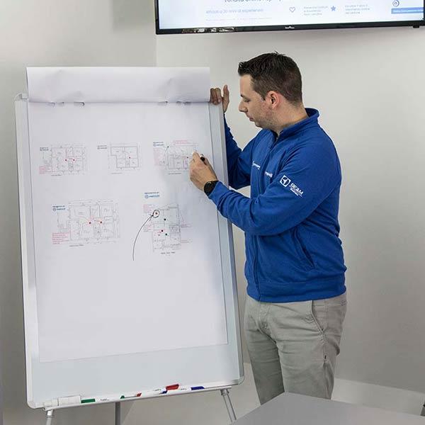 Consulenza progettazione impianti aspirazione centralizzata vmc