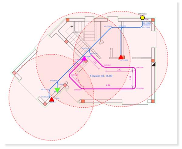 Dimensionamento impianto aspirapolvere centralizzato