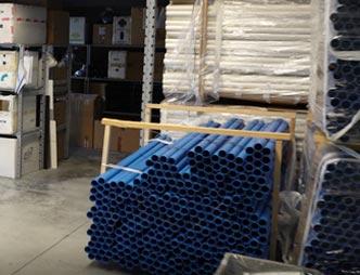 Fornitura di materiale aspirapolvere centralizzato e ventilazione forzata