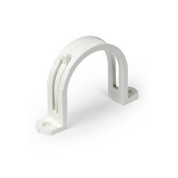 Graffa diametro 51 tubo aspirazione bianco a scomparsa Retraflex