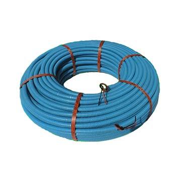 Corrugato con fili per impianto aspirapolvere centralizzato