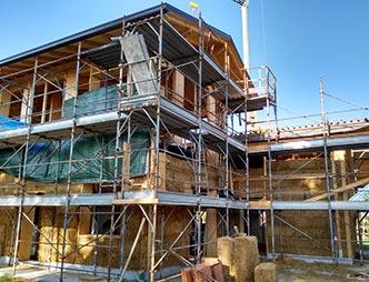 Predisporre impianto aspirapolvere su casa in costruzione