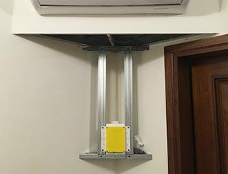 Predisporre impianto aspirapolvere su casa esistente
