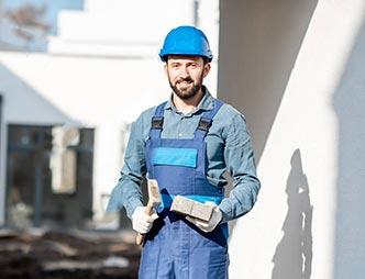 Impresa edile posa impianto aspirapolvere centralizzato