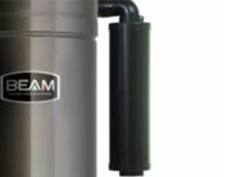Silenziatore con aspirapolvere centralizzato Beam Platinum