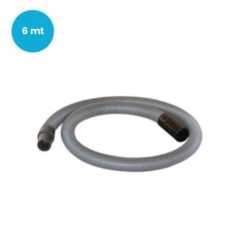 Prolunga per tubo flessibile aspirapolvere centralizzato metri 6