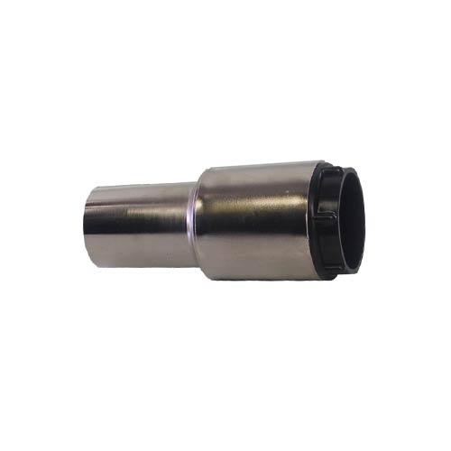 Raccordo tubo presa metallico nichelato conduttivo per tubo flessibile diametro 32