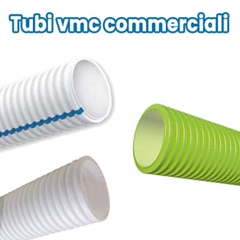 Disappair si interfaccia con tubi vmc in commercio