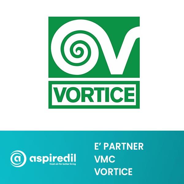 Aspiredil partner Vortice per la vmc