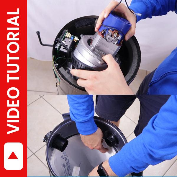 Video tutorial assistenza centrali aspiranti Beam