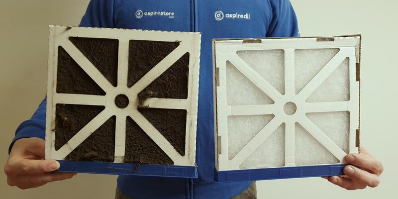 Manutenzione sostituzione filtri vmc recuperatore di calore