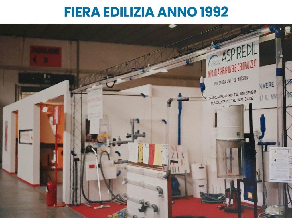 Aspiredil fiera aspirapolvere centralizzato nel 1992