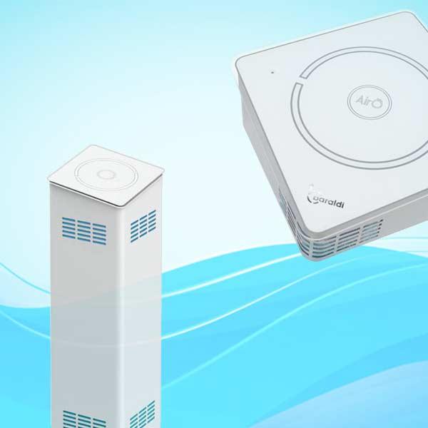sanificazione dell'aria indoor dispositivi standalone