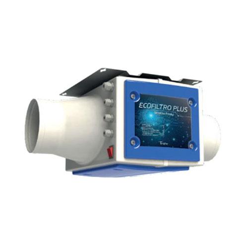 Filtrazione antibatterica ecofiltro plus sanificazione aria